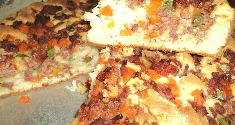Bolo Salgado De Pizza