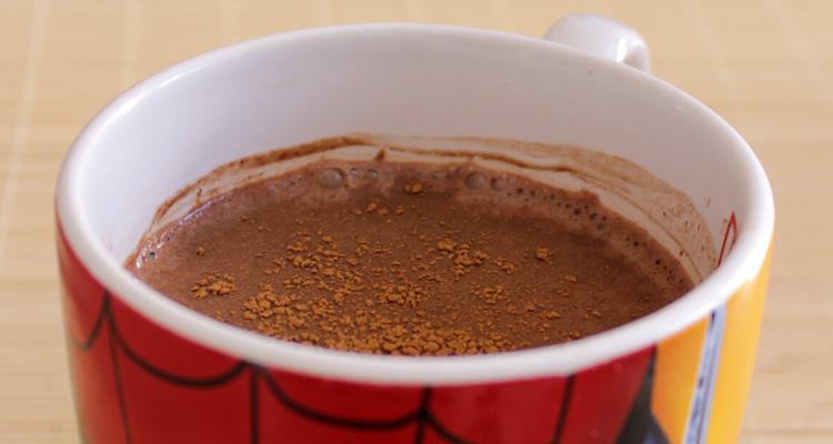 Chocolate Quente Microondas