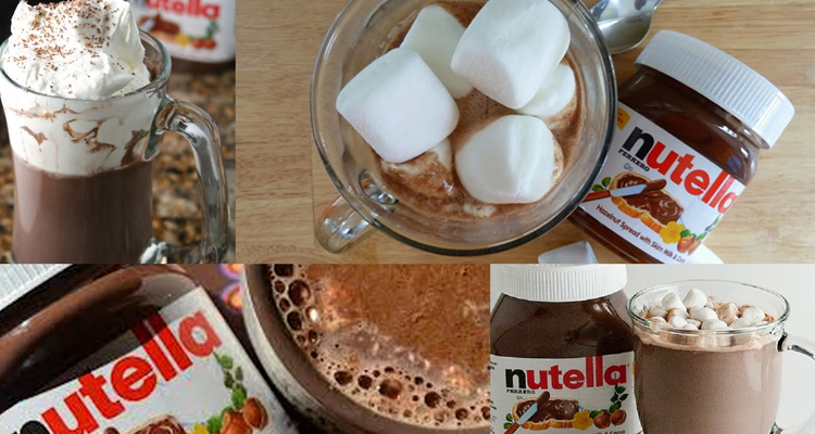 Chocolate Quente Nutella