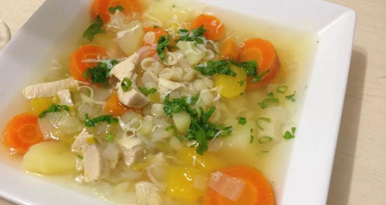 Sopa Frango Legumes