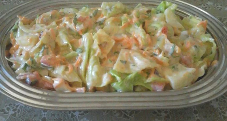 Salada Cremosa Repolho